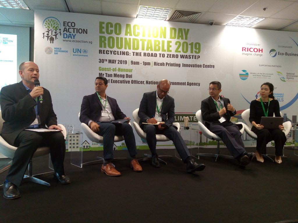 Eco Action Day Roundtable - The road to zero waste