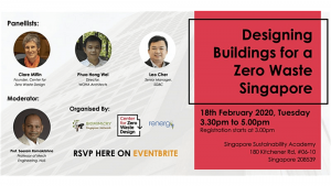 Attend the upcoming panel discussion on Zero Waste Building