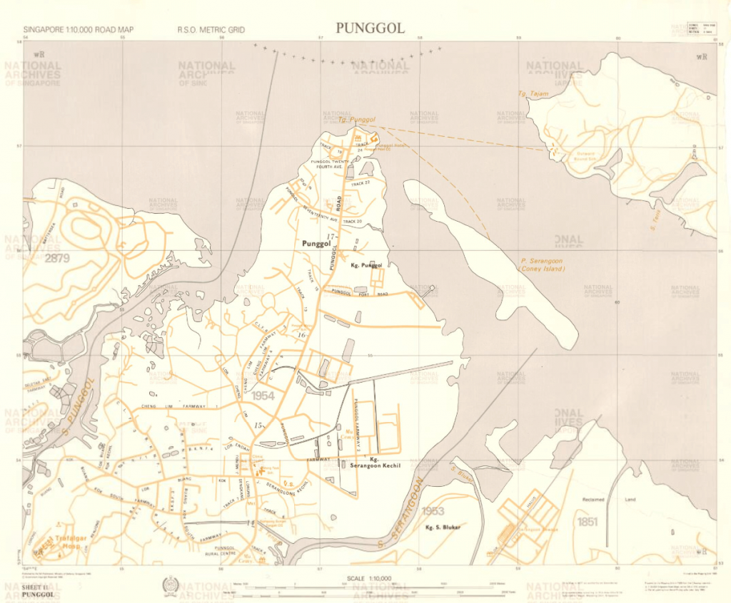 1985 Survey Map (Source: Singapore Land Authority)