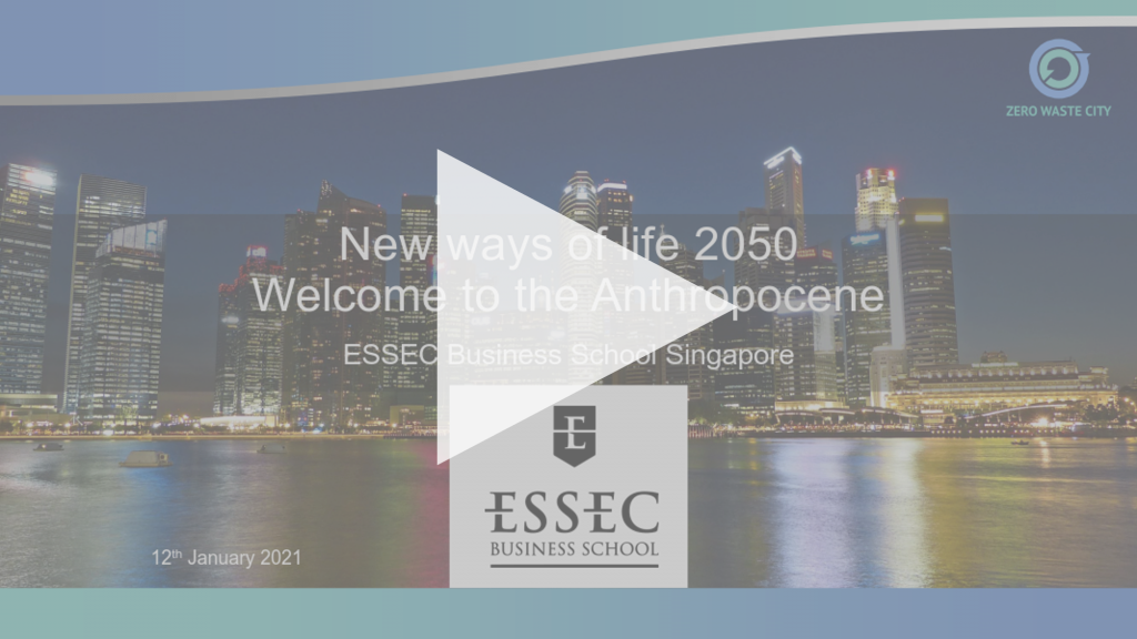 New ways of life 2050 - Welcome to the Anthropocene [Presentation Recording]