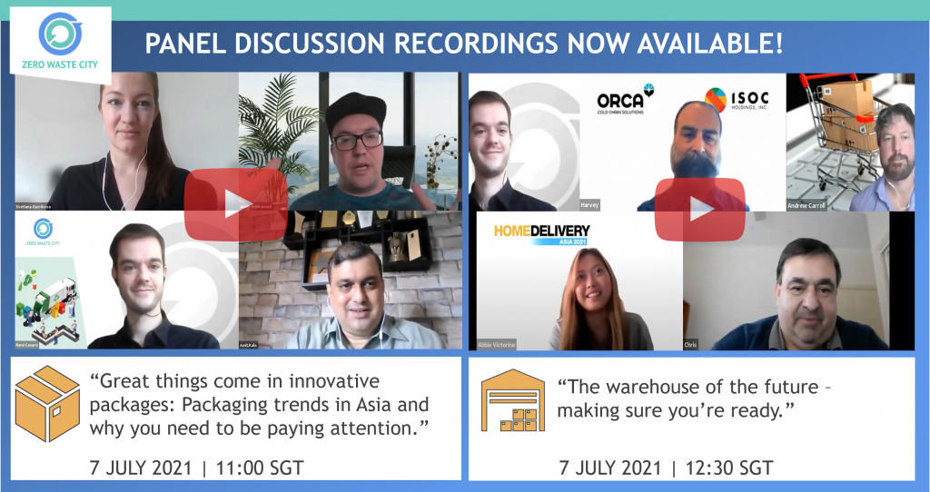 Innovative Packaging and the Future of Warehousing at Home Delivery Asia 2021 [Panel Discussion Recordings]